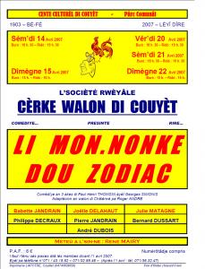 Programme Li Monnonke dou Zodiac
