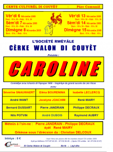 Programme Caroline